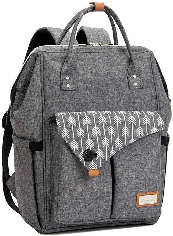 A Lekebaby Messenger Nappy Changing Bag.