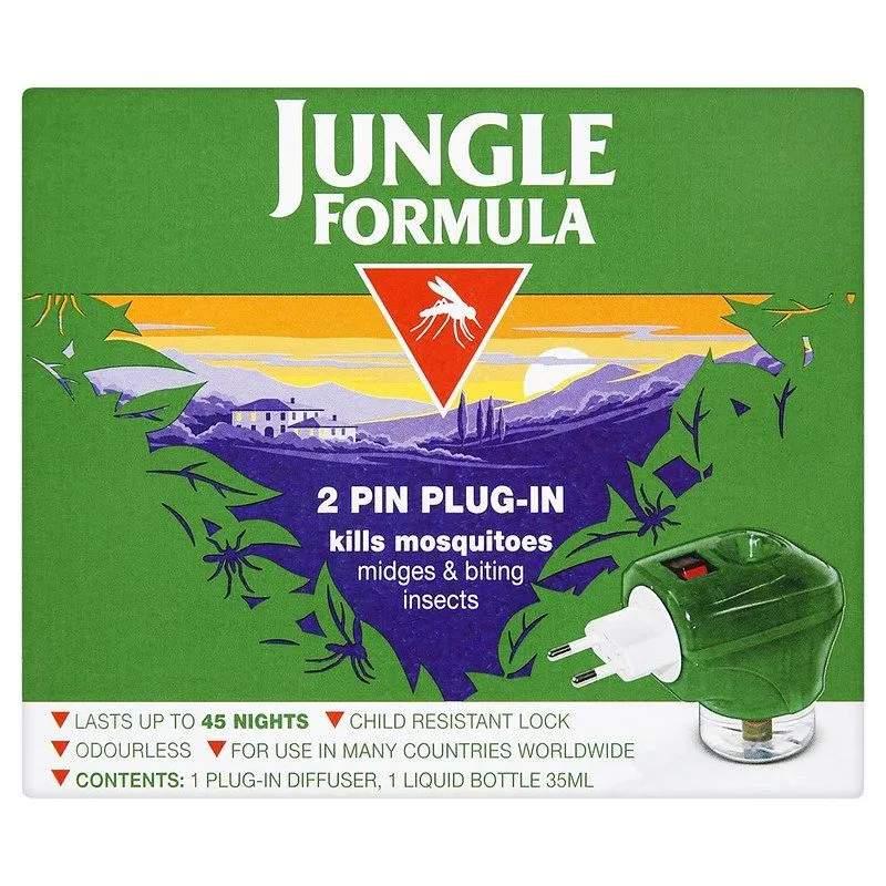 Jungle Formula Mosquito Killer Plug-In Insect Repellent.