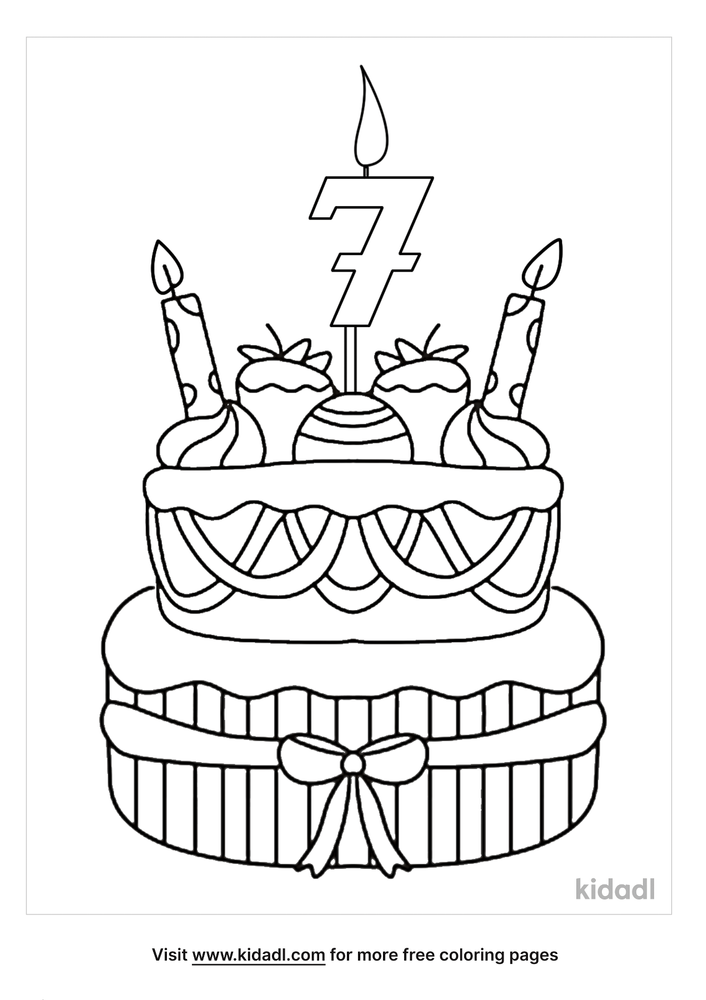 Happy Birthday Auntie Coloring Pages Free Birthdays Coloring Pages Kidadl