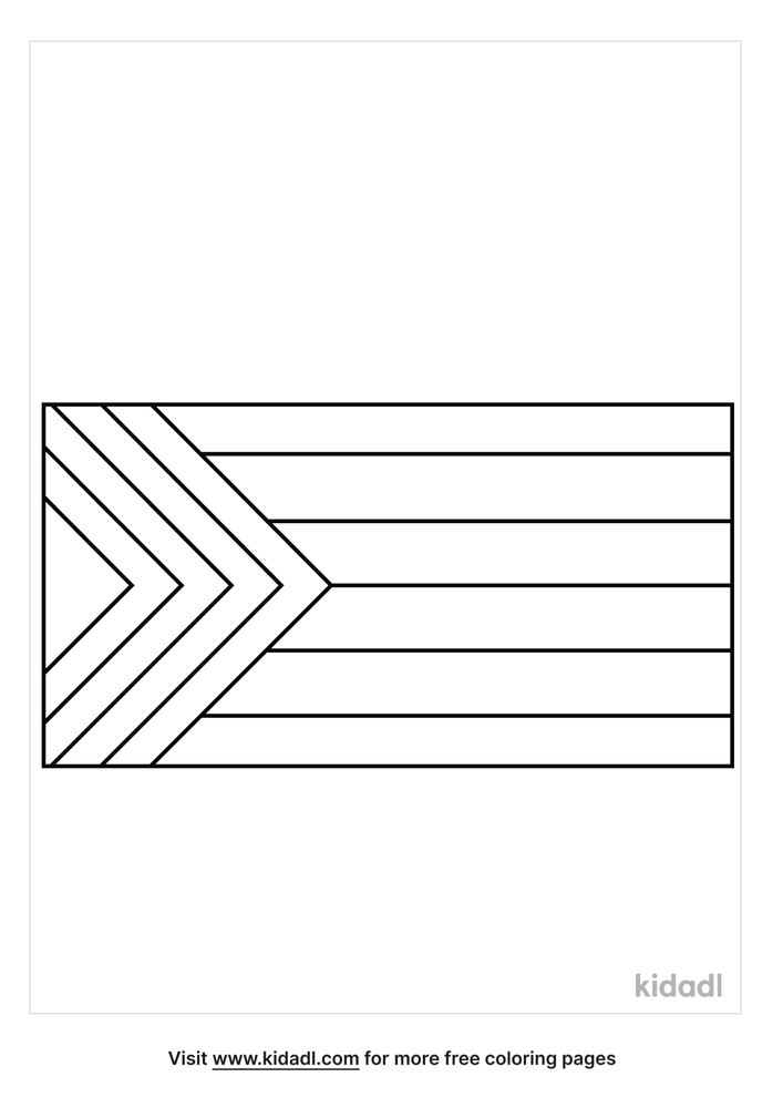 Pride Flag Coloring Pages Free World, Geography & Flags Coloring Pages  Kidadl