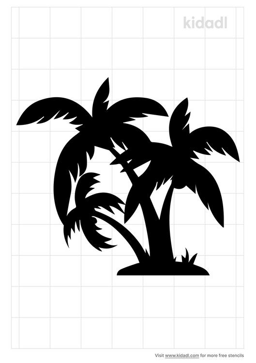 3-trees-stencil