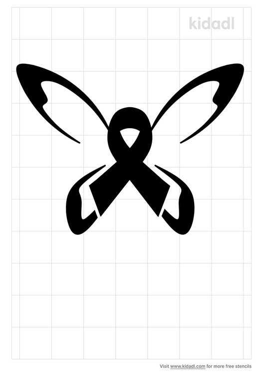 Butterfly-awareness-ribbons-stencil.png