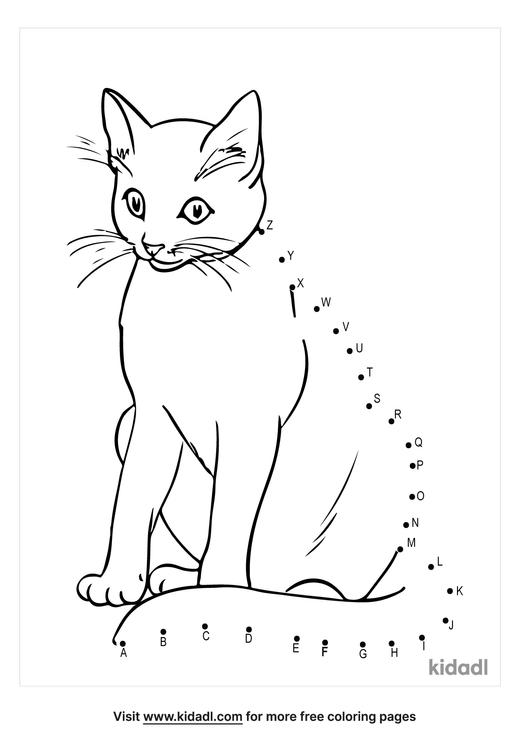 a-z-cat-dot-to-dot