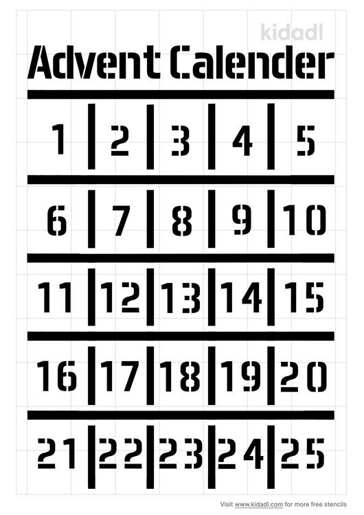 advent-calendar-number-stencil
