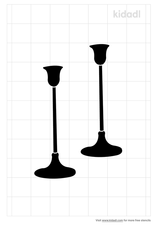 antique-candlesticks-Stencils.png