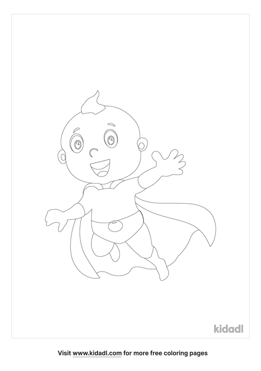 baby-hero-coloring-page