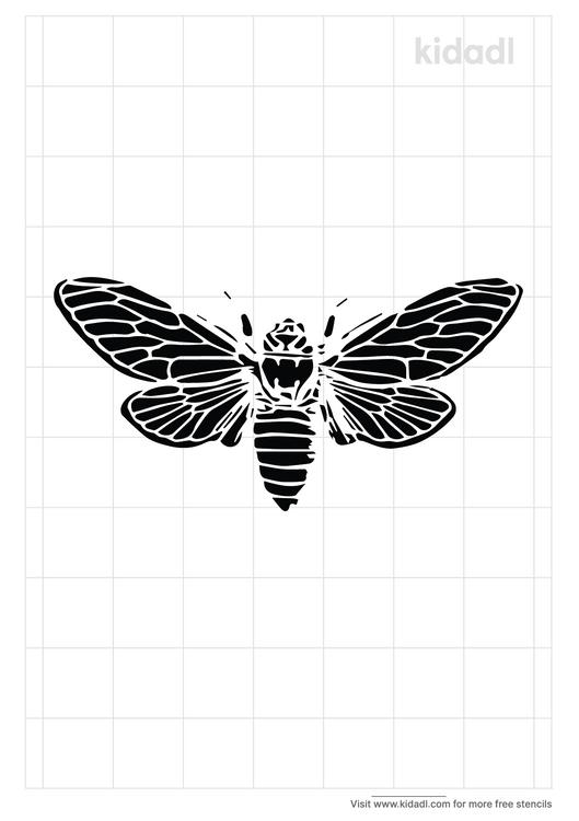 bee-stencil