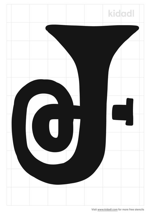 best-horn-euphonium-stencil.png