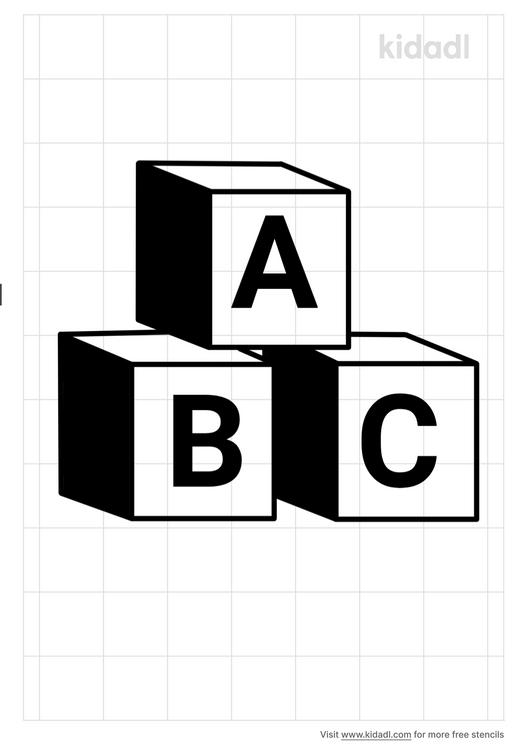 block-coloring-stencil