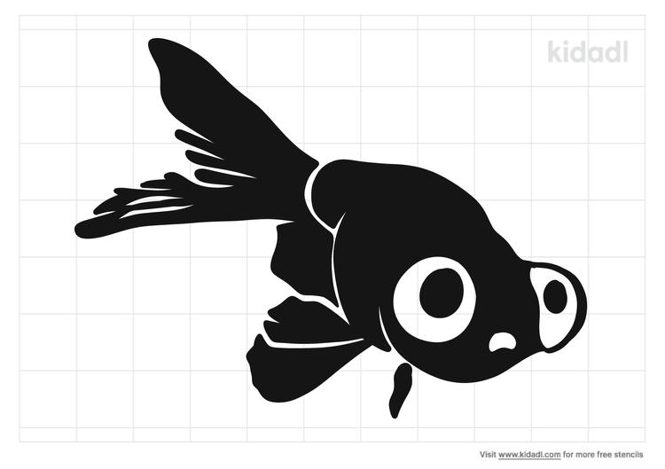 bubble-eye-goldfish-stencil.png