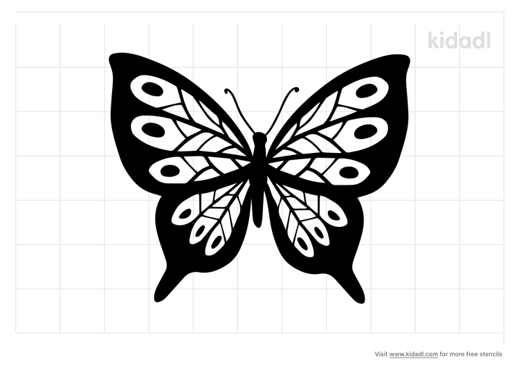 butterfly-stencil-png