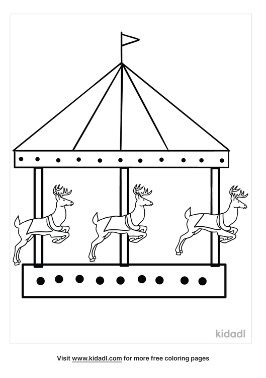 carousel-reindeer-coloring-pages.png