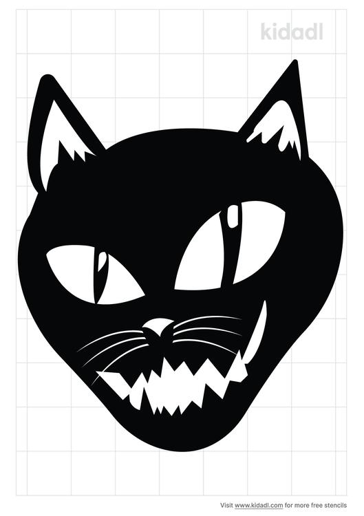 cat-evil-stencil