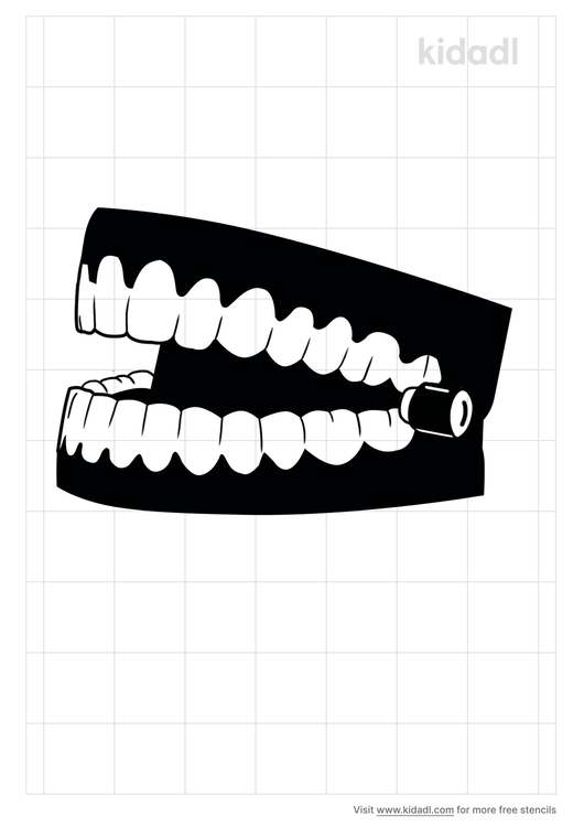 chattering-teeth-stencil.png
