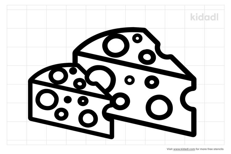 cheese-stencil