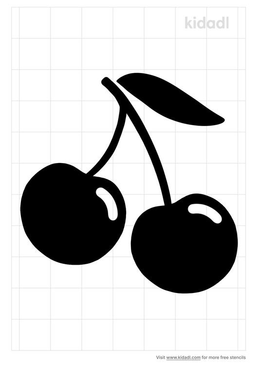 cherry-stencil