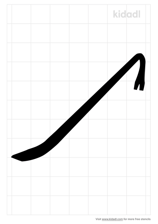 crowbar-stencil