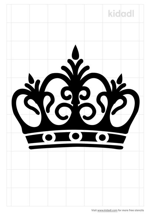 crown-royal-stencil