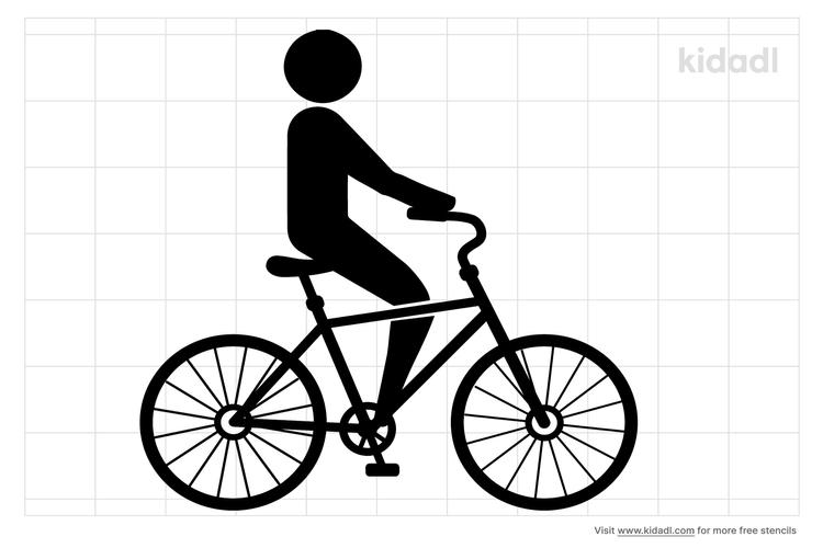 cycling-stencil