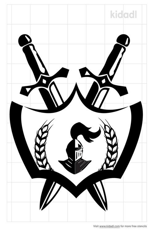 czech-army-crossed-sword-stencil