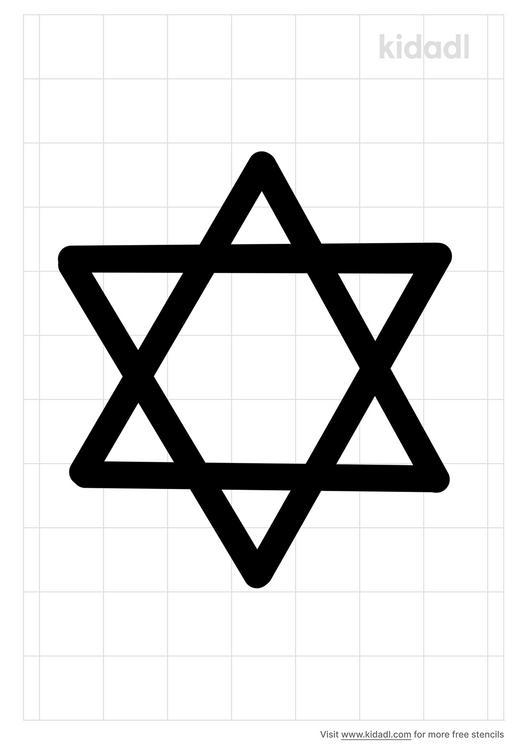 dabid-star-stencil