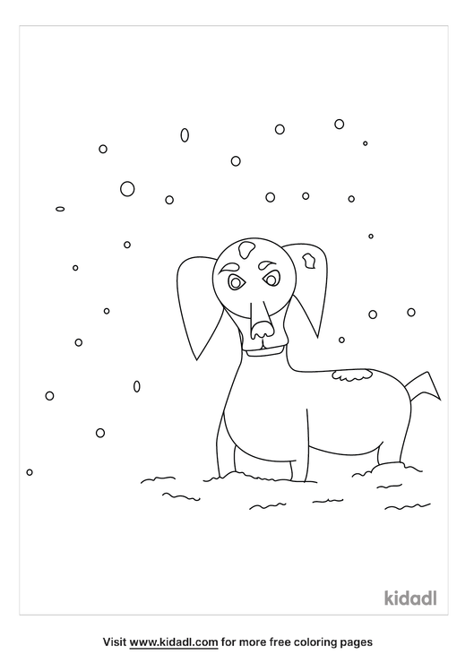 daschund-through-the-snow-coloring-page.png