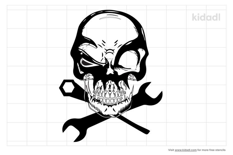 death-mechanic-stencil