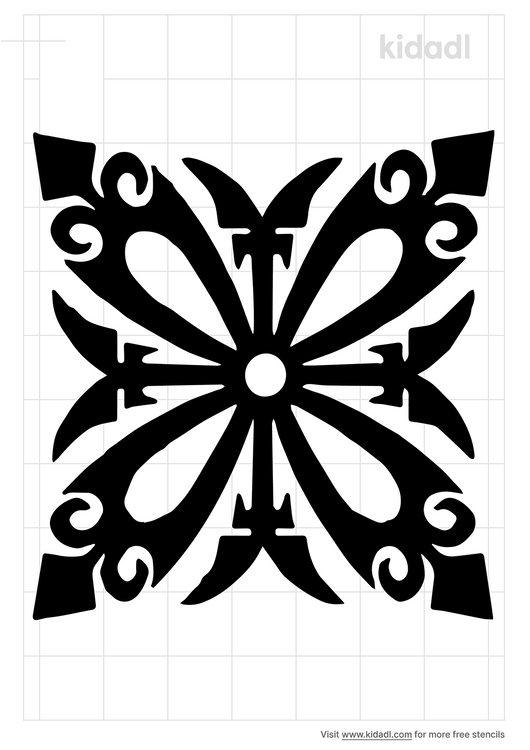 dining-table-stencil