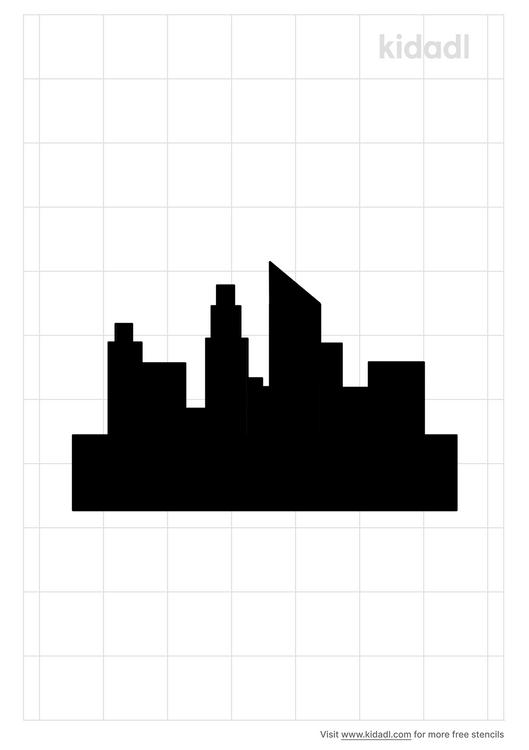 downtown-city-stencil