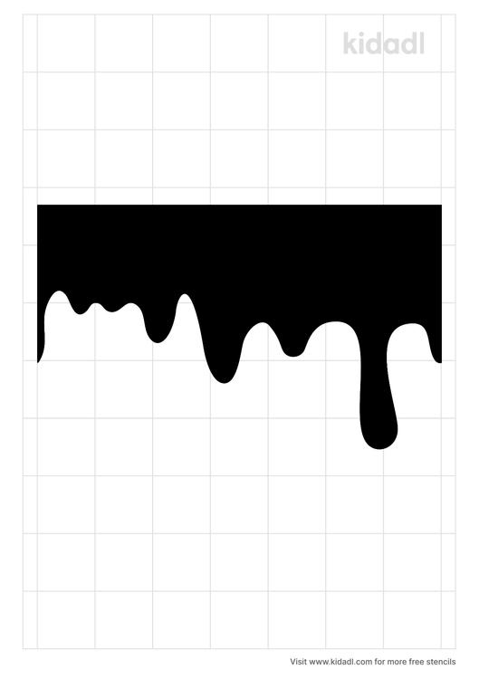 dripping-blood-stencil