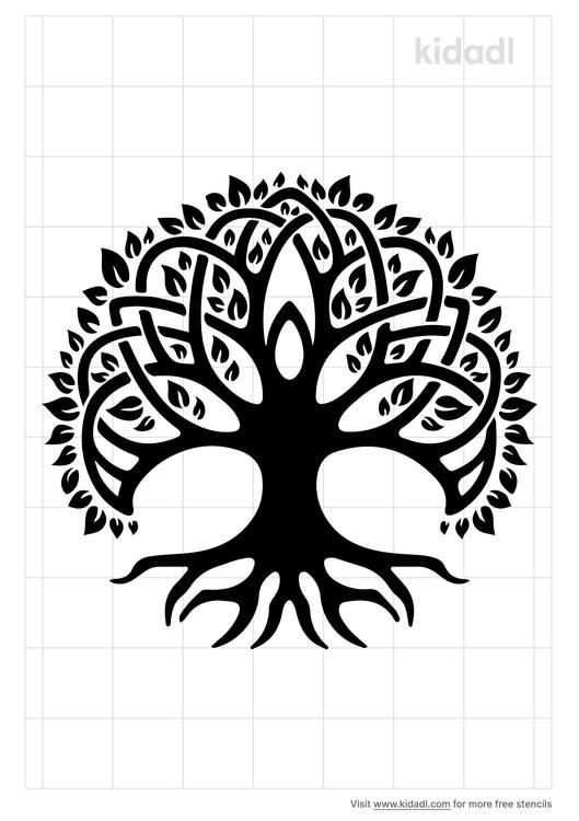 druid-s-oak-stencil
