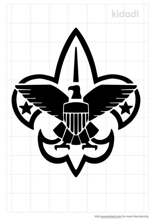 eagle-scout-stencil