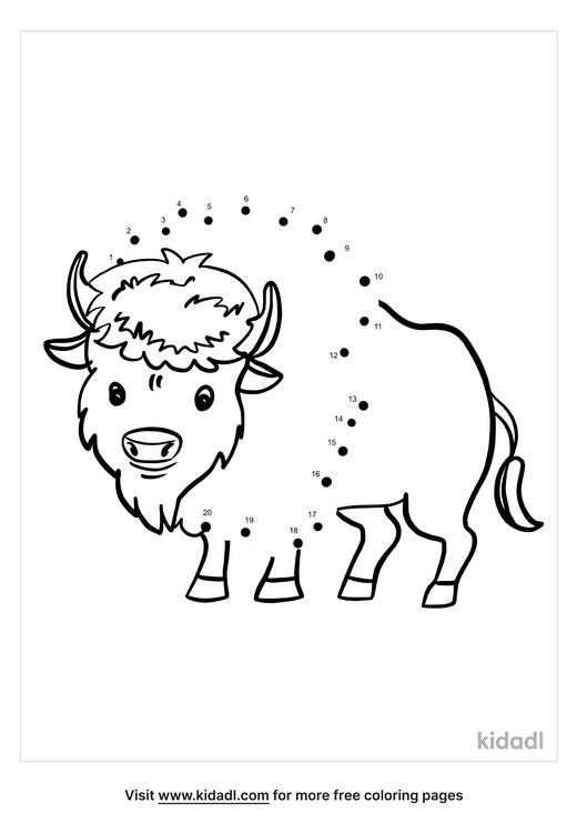 easy-bison-dot-to-dot