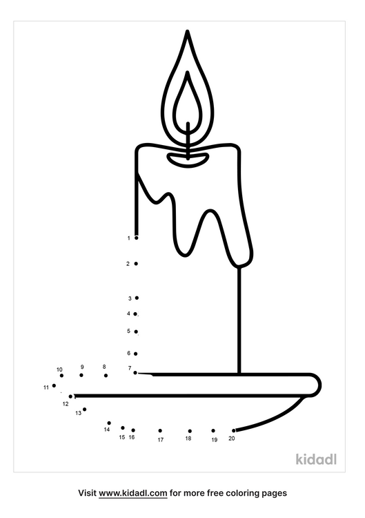 easy-candle-dot-to-dot
