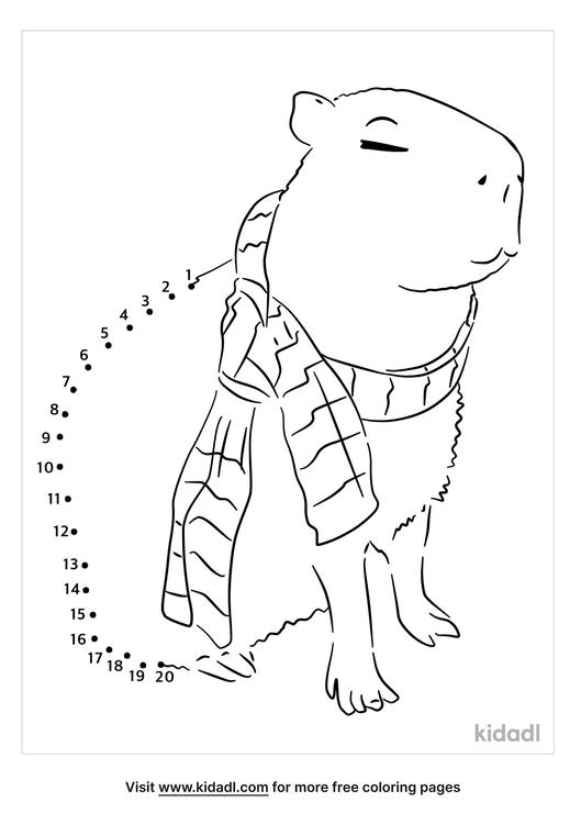 easy-capybara-dot-to-dot