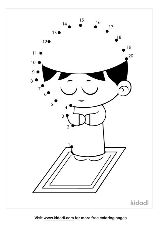 easy-child-praying-dot-to-dot