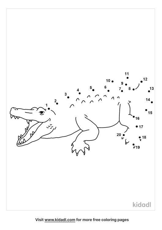 easy-crocodile-dot-to-dot