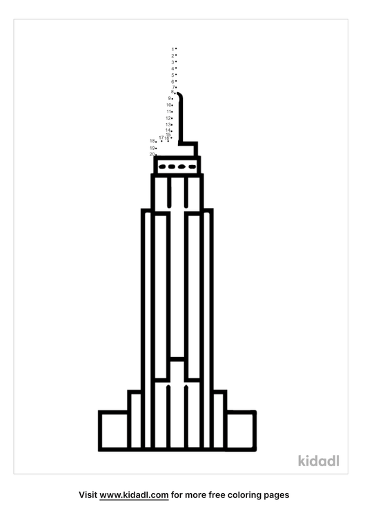 easy-empire-state-building-dot-to-dot