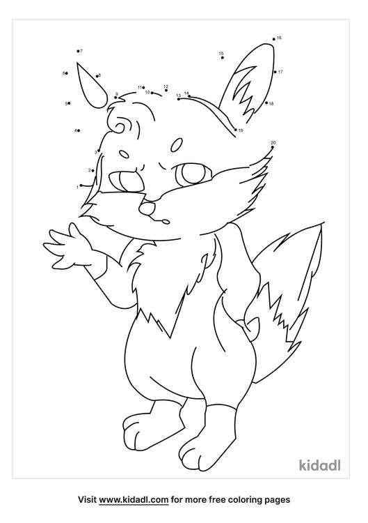 easy-fox-dot-to-dot