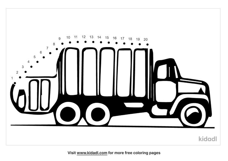 easy-garbage-truck-dot-to-dot