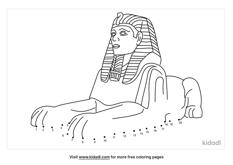 easy-great-sphinx-of-giza-dot-to-dot