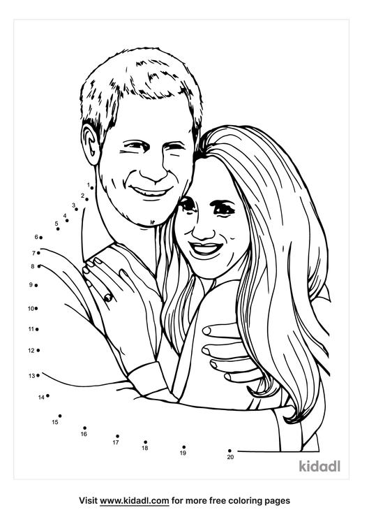 easy-harry-and-meghan-dot-to-dot