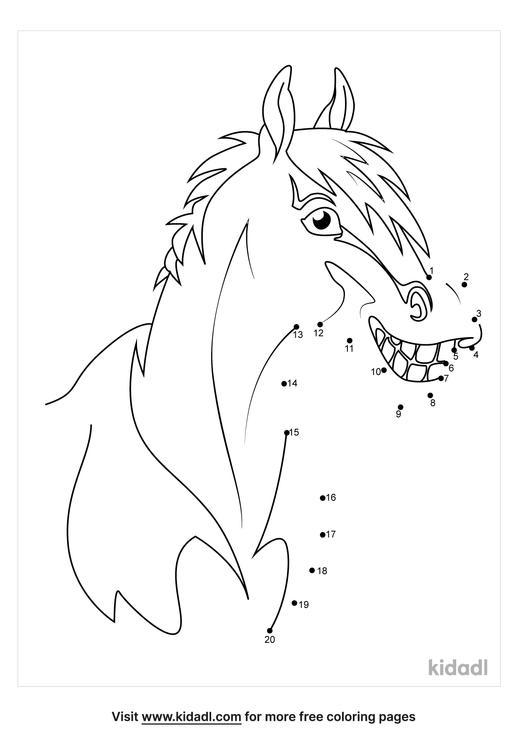 easy-horse-head-dot-to-dot