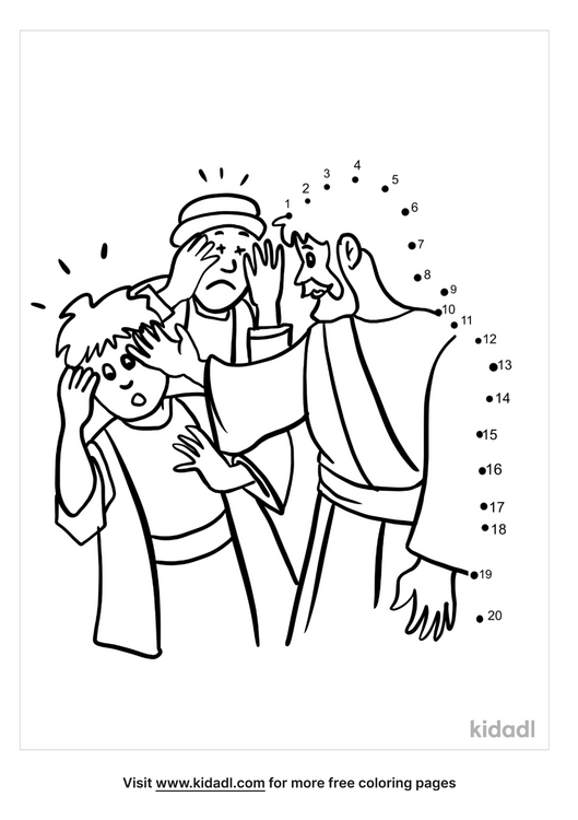 easy-jesus-heals-two-blind-men-dot-to-dot