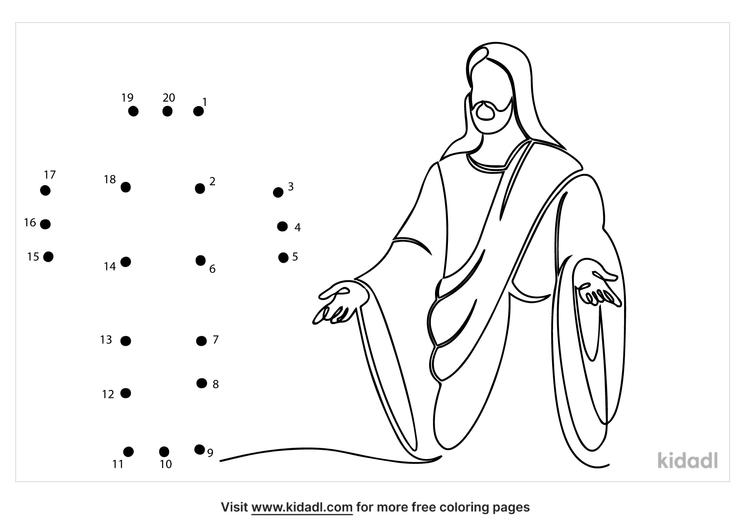 easy-jesus-is-risen-dot-to-dot