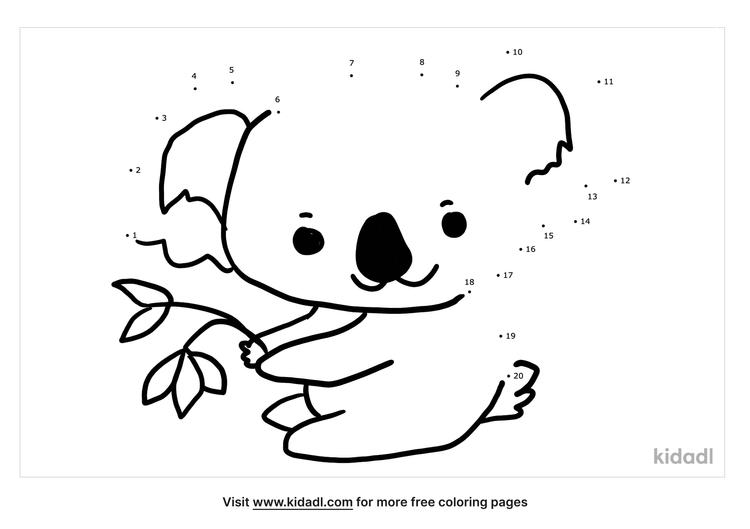 easy-koala-dot-to-dot