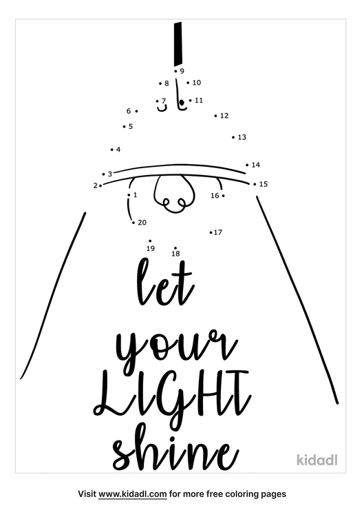 easy-let-your-light-shine-dot-to-dot