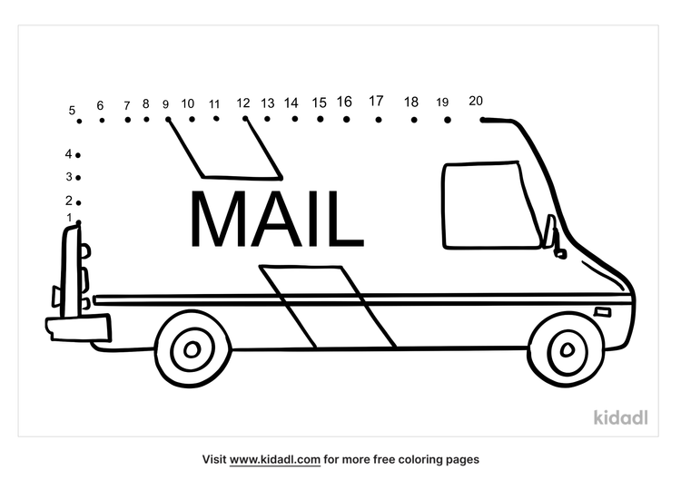 easy-mail-truck-dot-to-dot