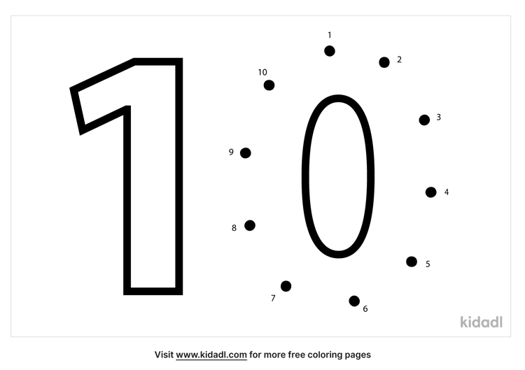 easy-number-10-dot-to-dot