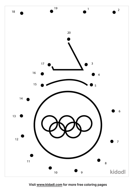 easy-olympic-dot-to-dot